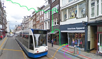 American Apparel Utrechtsestraat – Amsterdam