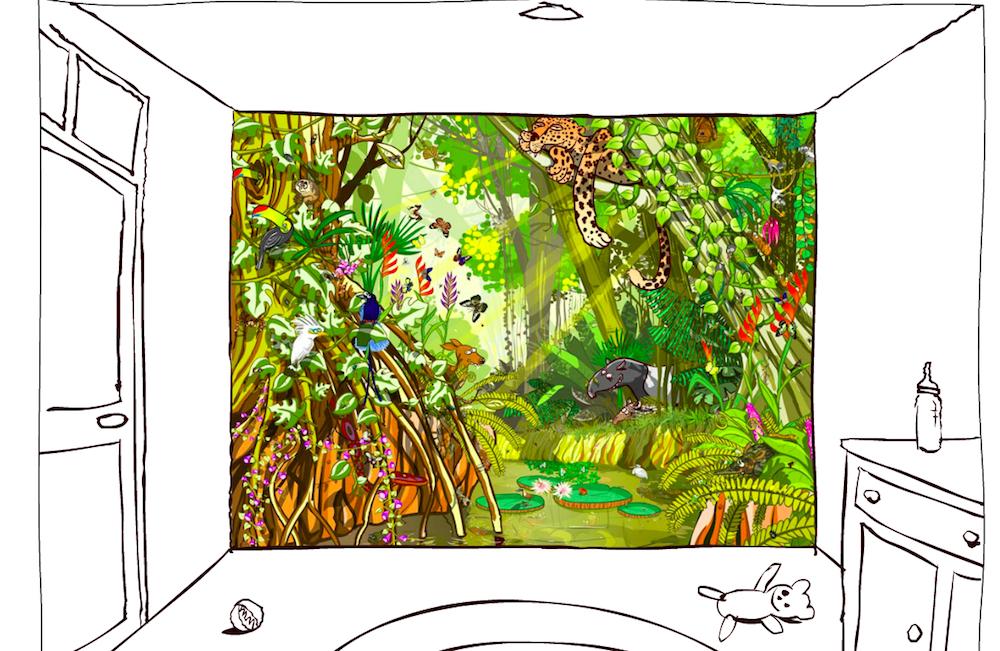 beestenbehang-jungle