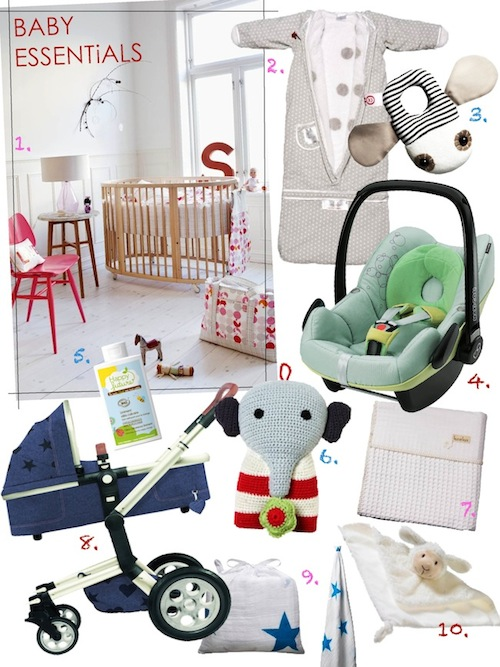 10 MUSTHAVES VOOR JE BABY