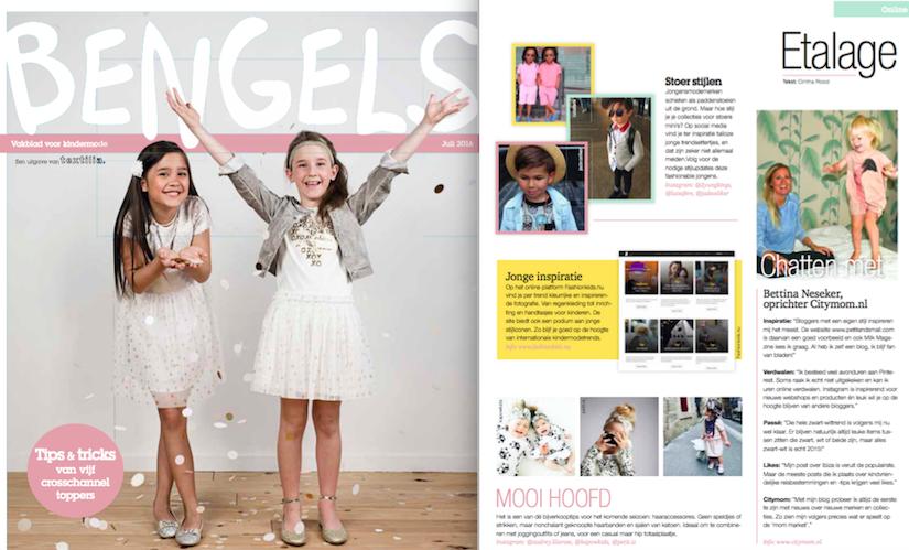 Interview Bengels Magazine juli 2016