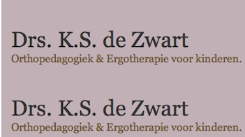 Drs. K.S. de Zwart – Amsterdam