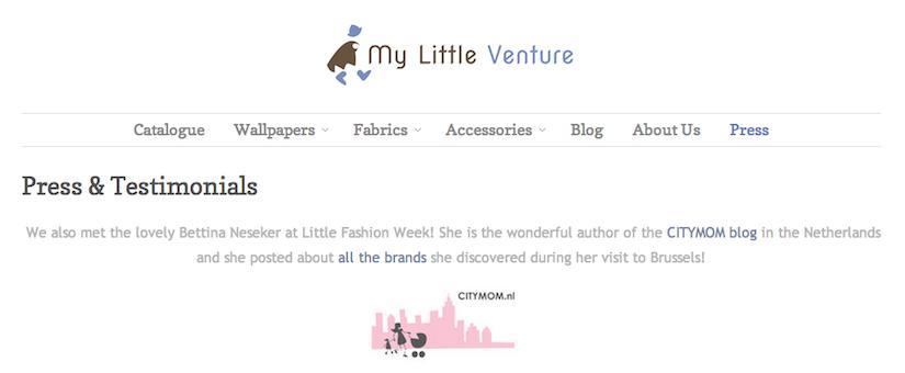 My Little Venture