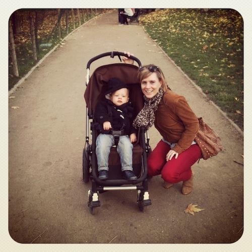 Anouk & Alexander in Parc Monceau