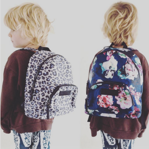 Be the coolest looking backpack gang with Tiba + Marl