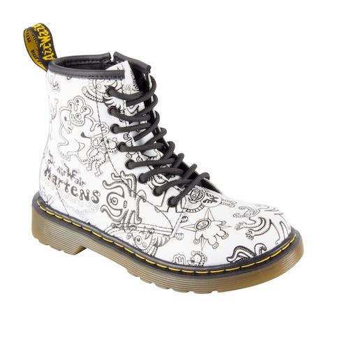 Tekeningen op je schoen bij Dr. Martens