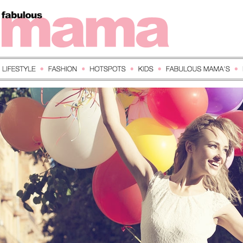The New Fabulous Mama website is life! www.fabmama.nl and you can find new CITYMOM' blogs weekly there! Check it out!