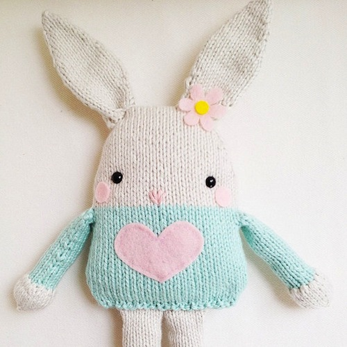Konijn http::www.etsy.com:nl:listing:92275187:bunny-knitting-pattern-toy-easter-bunny