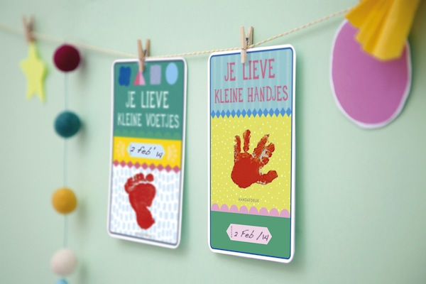 MILESTONE PREGNANCY CARDS; KRAAMCADEAU TIP