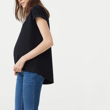 YAY! Meer mooie zwangerschapsmode te koop want Mango lanceert ook een zwangerschapscollectie.