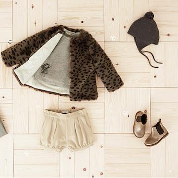 Lekker warm winterjasje voor meisjes van Mango. En die schoentjes zijn ook niet verkeerd!