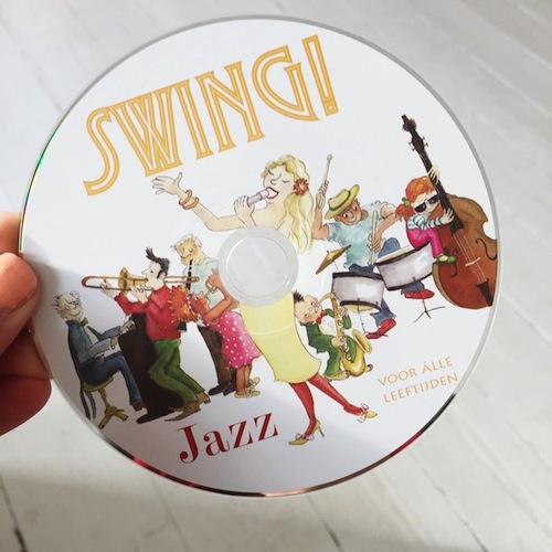 Oldskool swingen op Jazz muziek voor kinderen met de cd van Marleen Bijleveld