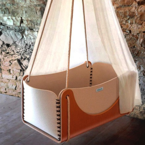 Cradles that turn into a greenhouse