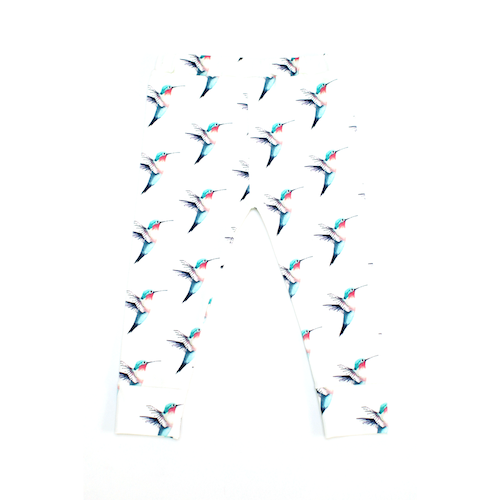 Love the patern of 'Our Little Lullaby Legging' from Stick Around Shop https://www.stickaroundshop.com/shop/little-lullaby-legging-hummingbird/