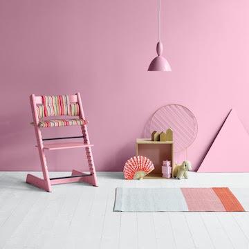 Stokke voegt ook de kleur Soft Pink aan de Tripp Trapp®-collectie toe.