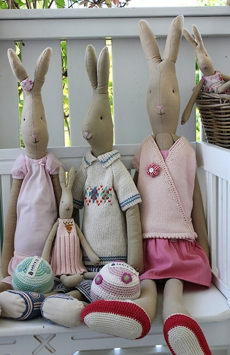 Maileg konijnenfamilie