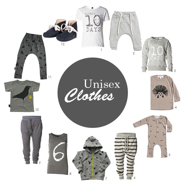 Unisex.clothes.nummers