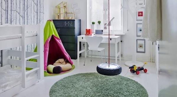 Schommel In Kinderkamer : Kinderkamers met een schommel