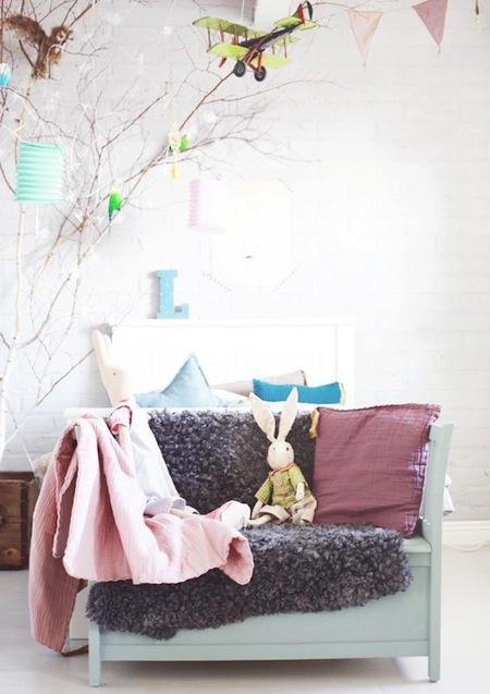 Pastel Kidsrooms