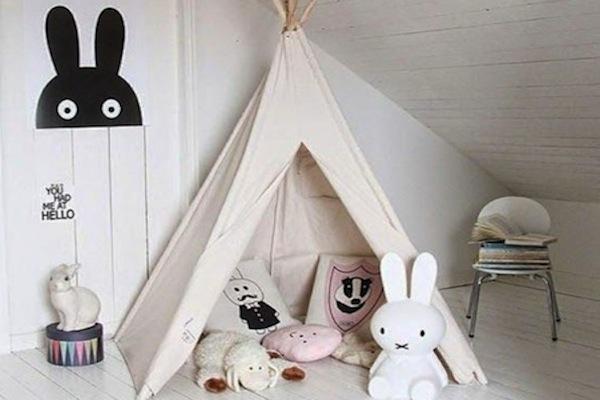Tipi Tent Kinderkamer : Tipi time; 10 x kinderkamers met een tipi