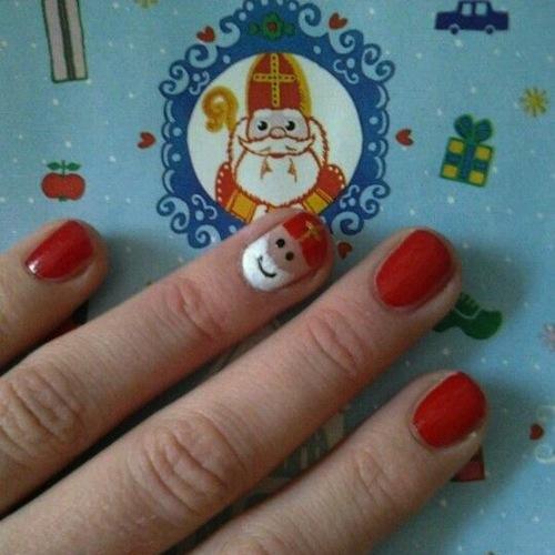 Nagellak Sinterklaas