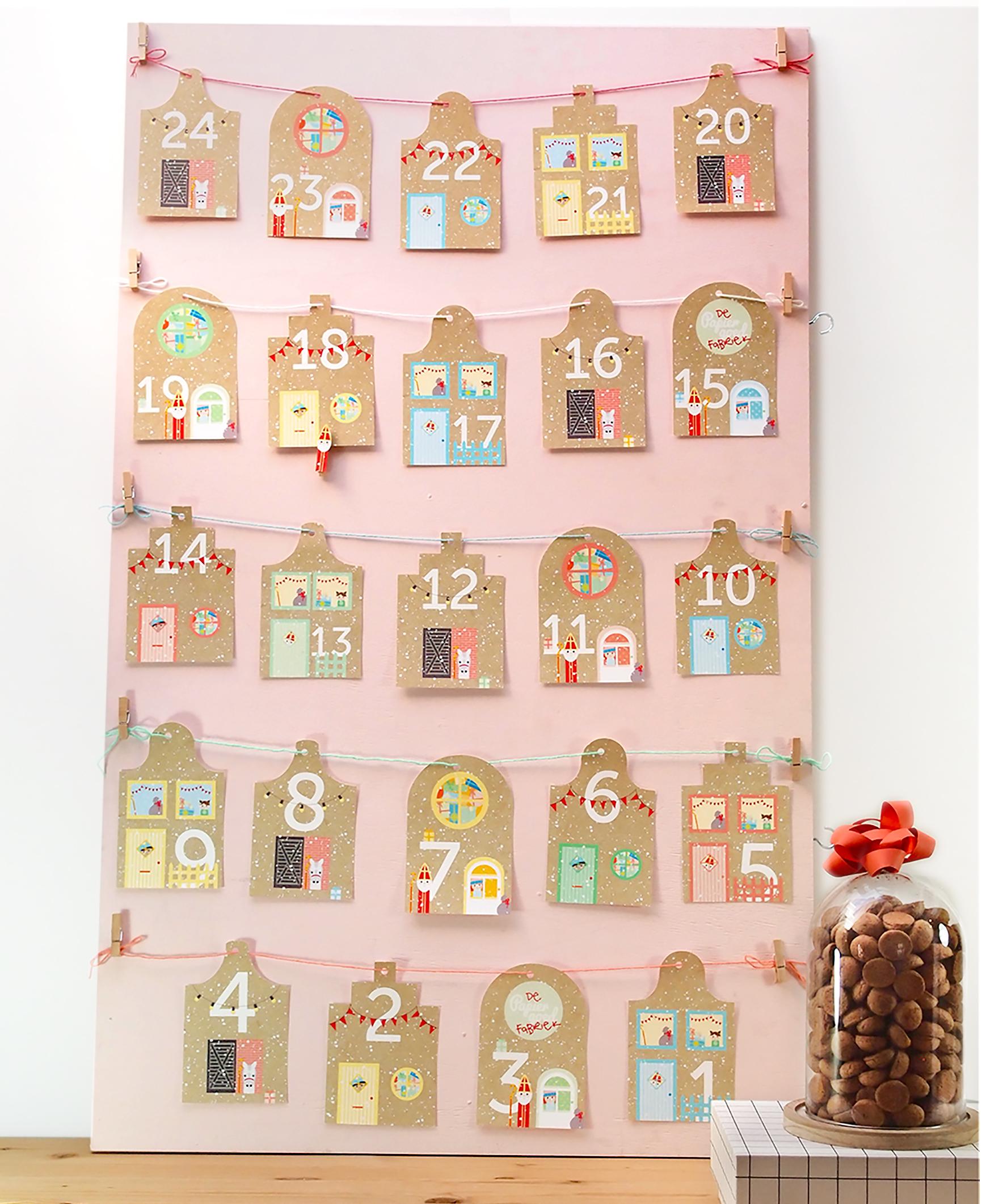 Aftelkalender Sinterklaas pakjesavond