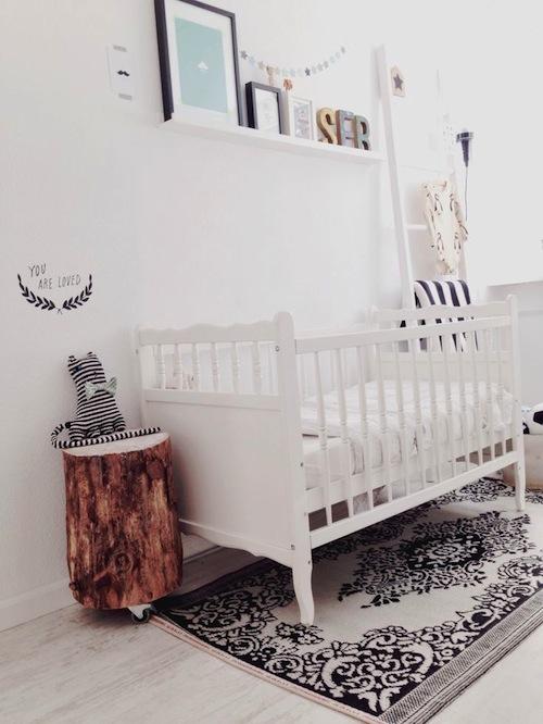 10 x White Nursery