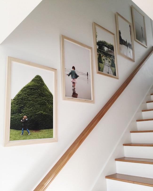 Familiefoto's in huis ophangen 2