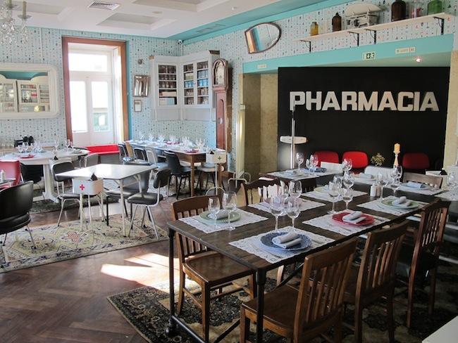 Pharmacia Restuaurant Lissabon
