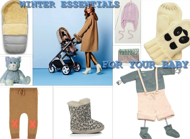 Winteressentials for your baby