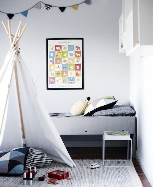 Grey Kids' Rooms