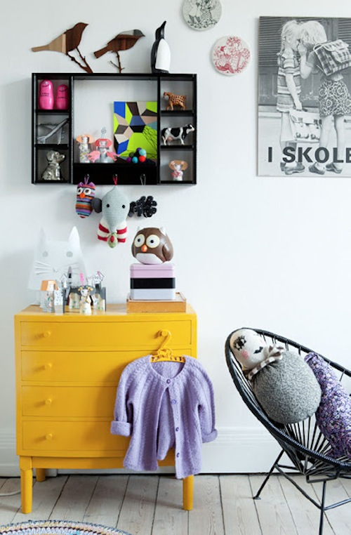 Kids' Rooms with Yellow Accents 1
