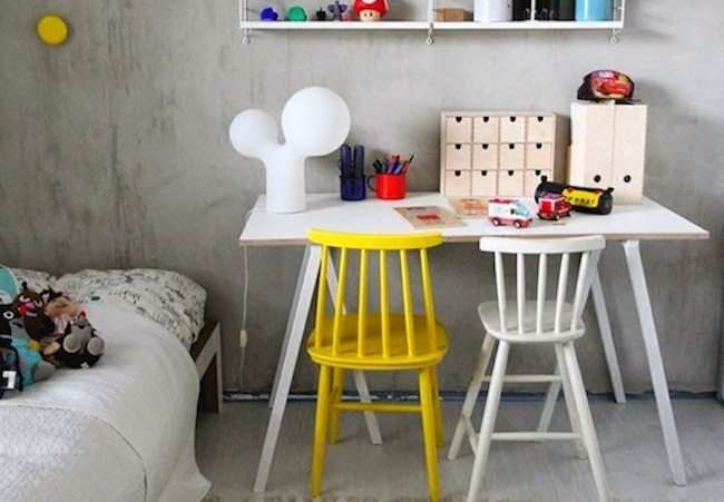 12 KIDS' ROOMS WITH YELLOW ACCENTS