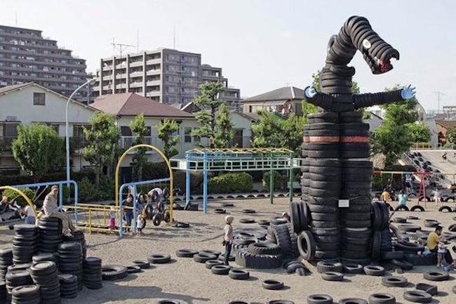Nishi Rokugo Park – Tokyo, Japan
