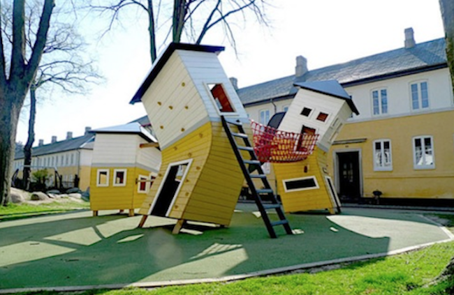 Special playground around the world