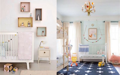 12X ECLECTIC NURSERIES WITH A TOUCH OF PASTEL