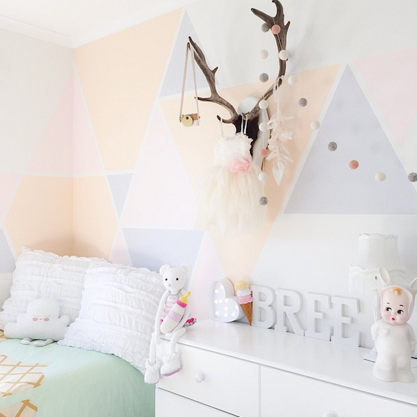 Pastel Colors Kids Room: INSPIRING INSTAGRAM KIDS'ROOMS