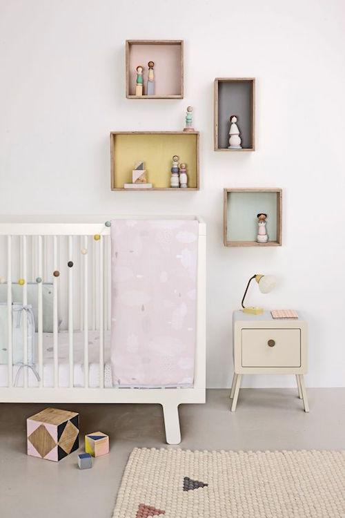 12x eclectic nurseries with a touch of pastel - Zin babykamer ...