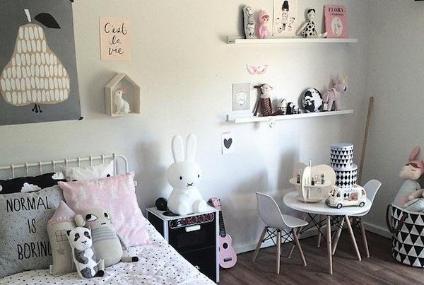 15 Zwart/Witte accessoires voor de kinderkamer