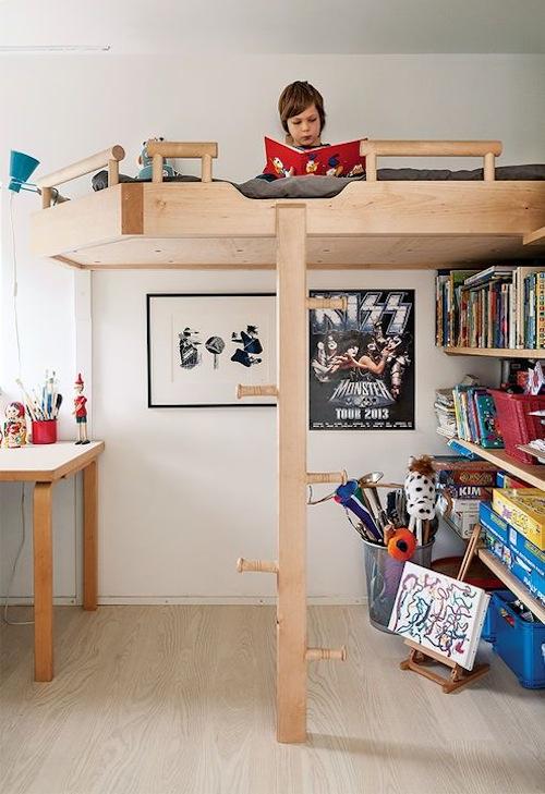 Kinderkamers met hout 13