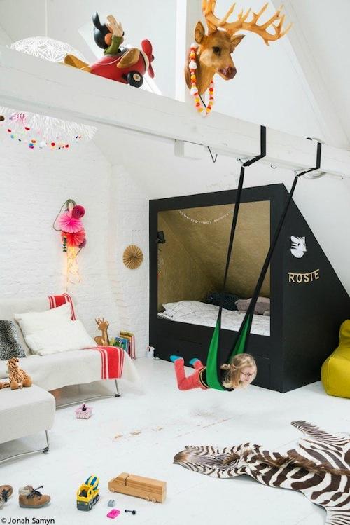 Kinderkamers met mooie bedden