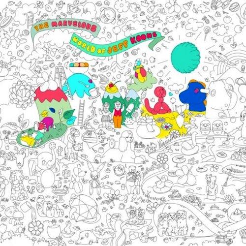Jeff Koons Kleurplaat Van Omy