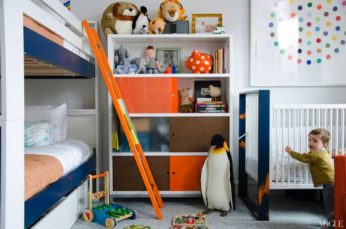 shared childrens room