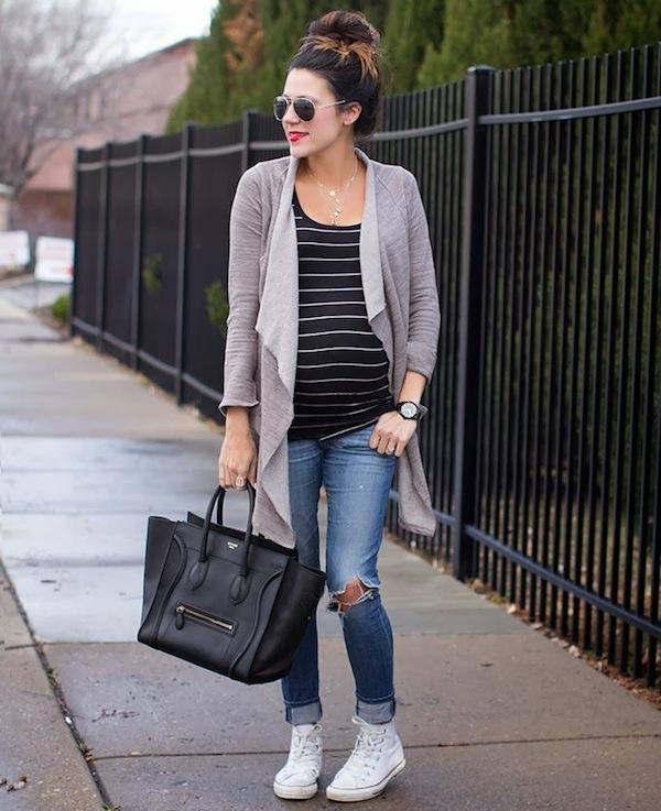 20 pregnant streetsyle looks