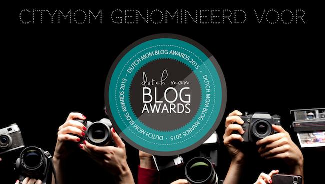 CITYMOM genomineerd voor Dutch Mom Blog Awards 2015