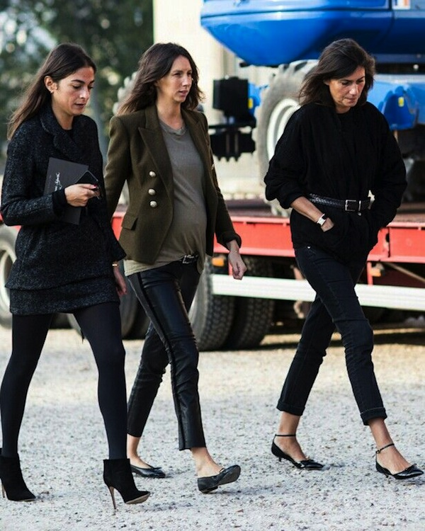 Pregnant street style; 20 cool looks