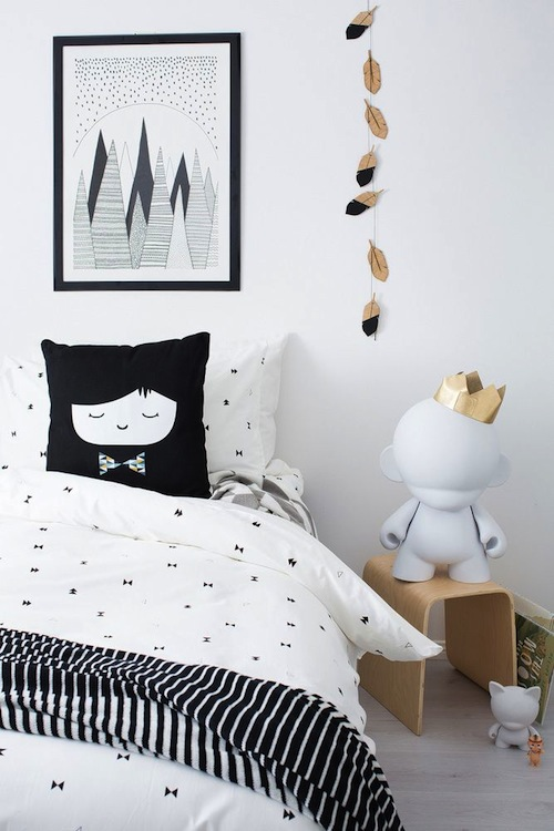 monochrome kids room inspiration CITYMOM.nl 5