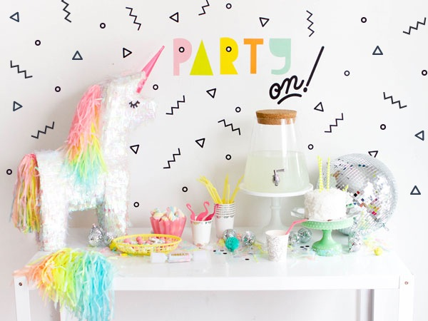 8 X DIY PARTY TIME