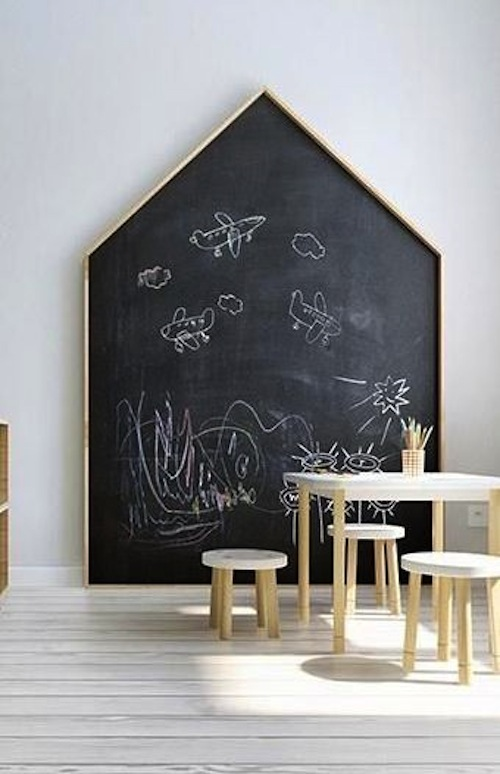 10 idee n voor aan de kinderkamer muur for Huisjes voor aan de muur