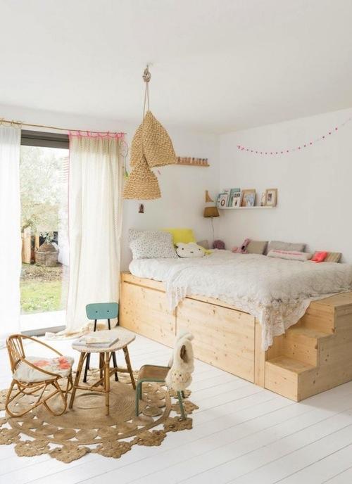wooden-kids-bedroom
