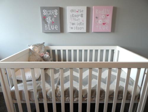 10 ideeËn voor aan de kinderkamer muur, Deco ideeën